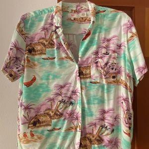 Levi's Hawaiian shirt XL